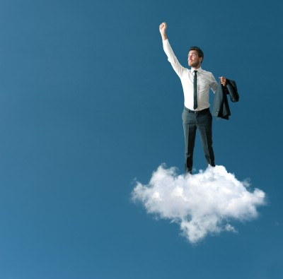 man-on-cloud